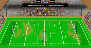 Currie cup South African game simulation