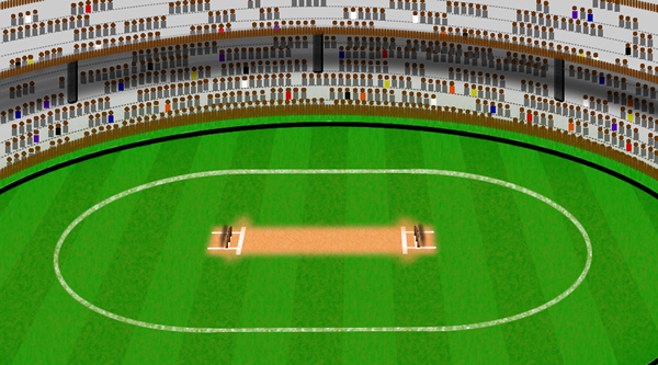 cricket game simulation info