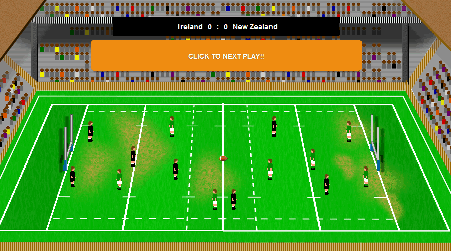 rugby game simulation match